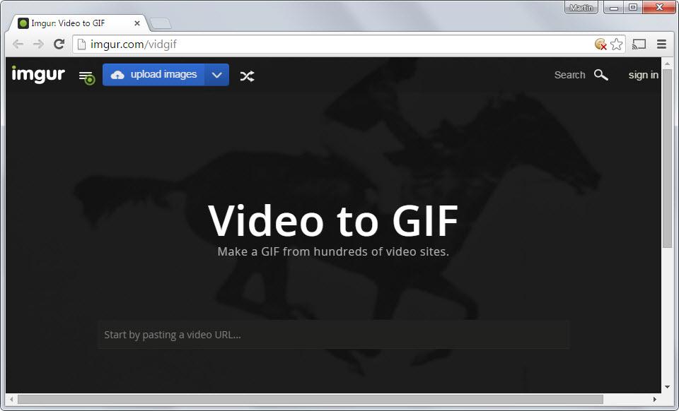 Como hacer Gif animados con tus videos en video to GIF