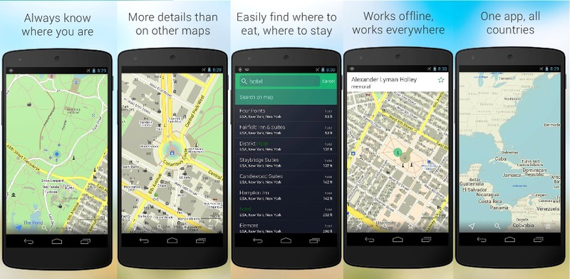 Maps.me, nuevo GPS gratuito para iOS y Android