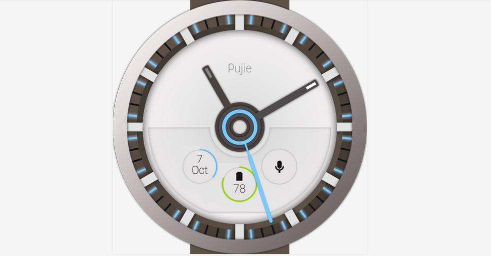 Pujie para Android Wear, app para personalizar tu smartwatch