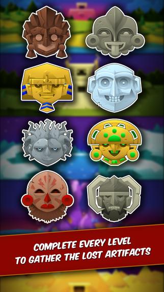 Temple Rush, nuevo juego de puzzle para iPhone