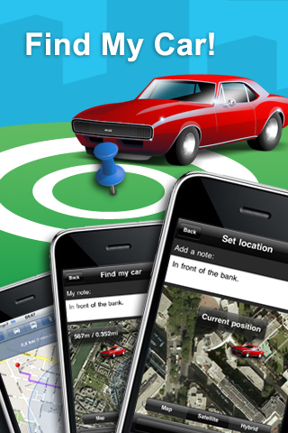 Localizá tu auto estacionado con Find My Car para iPhone