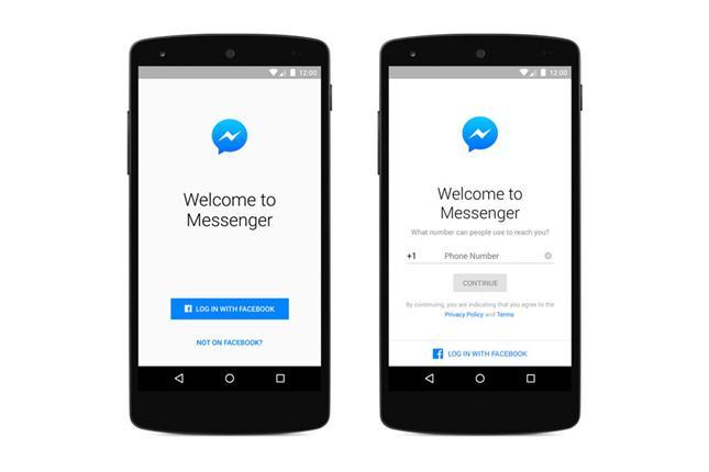 Facebook Messenger podrá ser utilizado por usuarios sin cuenta en la red social