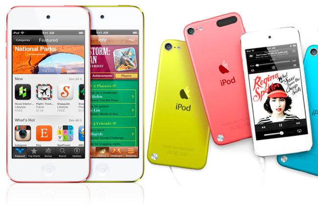 Apple lanza versiones renovadas de su iPod