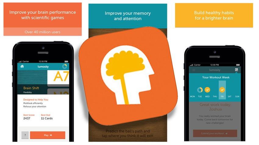 Juegos para ejercitar la mente: Lumosity para Android