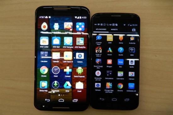 Motorola renovó su linea de smartphone