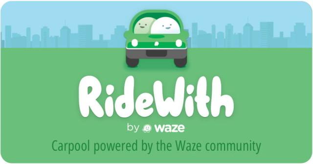 RideWith de Waze para Android, app similar a Uber