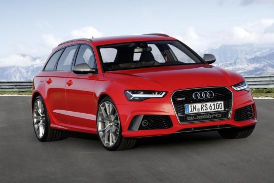 Audi presentó los nuevos RS6 y RS7