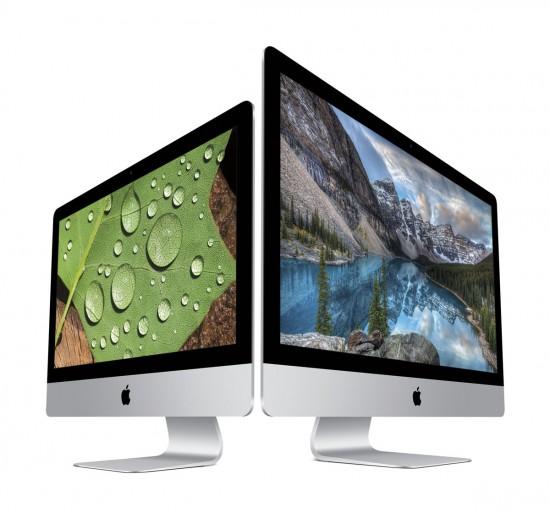 Apple actualiza sus iMac con nuevas pantallas
