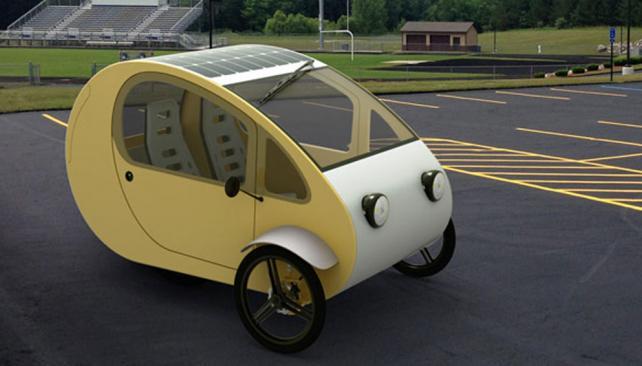Mö ¡El primer vehículo solar del mundo!